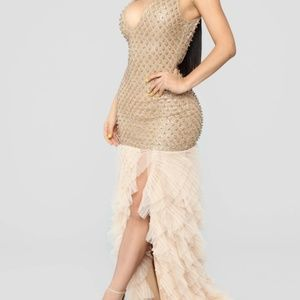 Roxi Ruffle Maxi Dress
